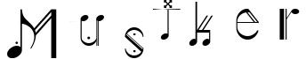 Musiker Font