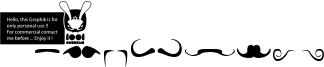 Mustache Font