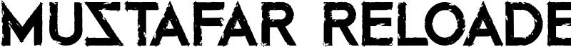 Mustafar Reloaded Font