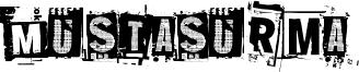 Mustasurma Font