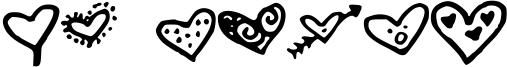 MW Heart Font