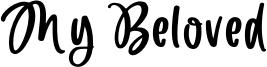 My Beloved Font