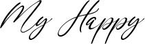 My Happy Font