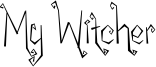 My Witcher Font