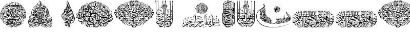 My Font Quraan 7 Font
