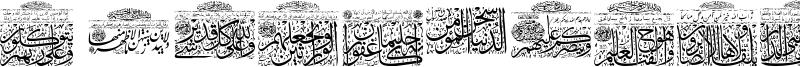 My Font Quraan 9 Font