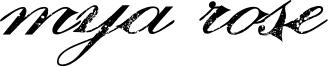 Mya Rose Font