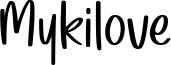 Mykilove Font
