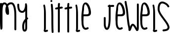 My Little Jewels Font