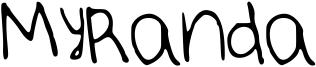 MyRanda Font