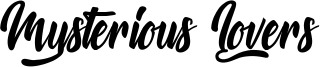 Mysterious Lovers Font