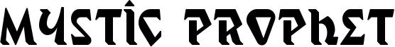Mystic Prophet Font
