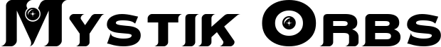 Mystik Orbs Font