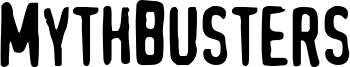 MythBusters Font