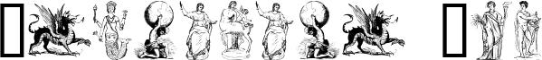 Mythology One Font