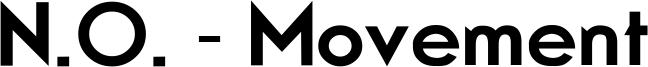 N.O. - Movement Font