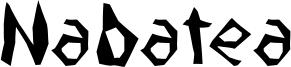 Nabatea Font