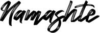 Namashte Font