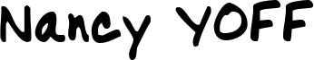 Nancy YOFF Font