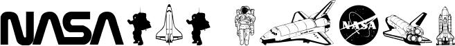 NASA Dings Font