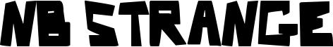 Nb Strange Font