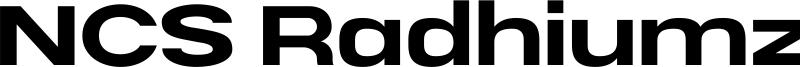 NCS Radhiumz Font