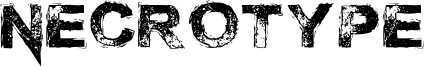 Necrotype Font