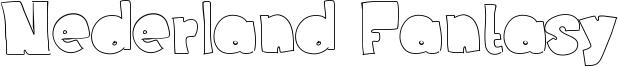 Nederland Fantasy Font