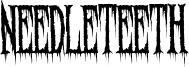 Needleteeth Creepy.ttf