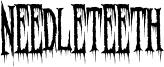 Needleteeth Spooky.ttf