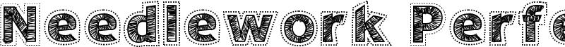 Needlework Perfect Font
