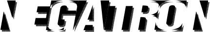 Negatron Font