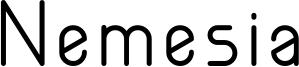 Nemesia Font