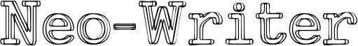 Neo-Writer Font