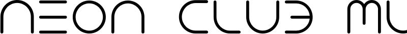 NEON CLUB MUSIC_medium.otf