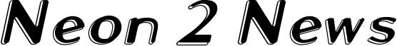 Neon 2 News Font