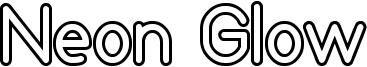 Neon Glow Font