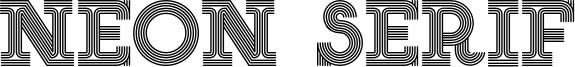 Neon Serif Font