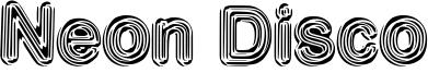 Neon Disco Font