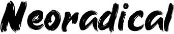 Neoradical Font