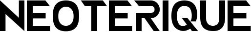 Neoterique Font