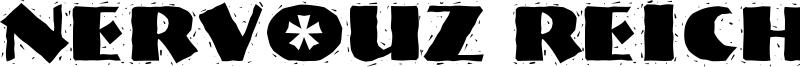 Nervouz Reich Font