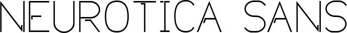 Neurotica Sans Font