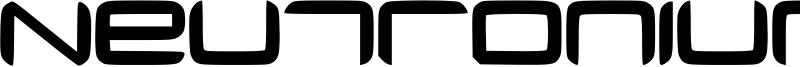 Neutronium Font
