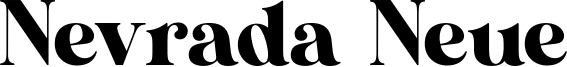 Nevrada Neue Font