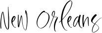 New Orleans Font