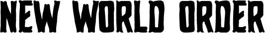 New World Order Font