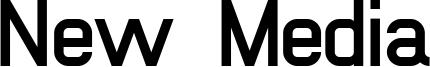 New Media Font