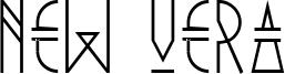 New Vera Font