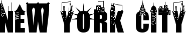 New York City Font